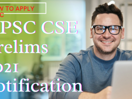 UPSC CSE Prelims 2021 notification  